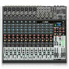BEHRINGER Analog Mixer USB Audio Interface Effector 16ch XENYX X2222USB