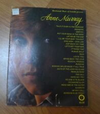 Anne Murray Songbook Piano Guitar Talk It Over In The Morning Snowbird Destiny