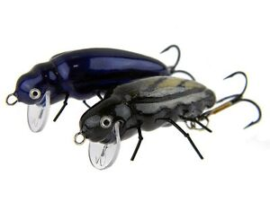Microbait Beetle / 1,7g 28mm / Floating lure for orfe, chub, trout