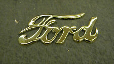 MODEL T FORD NEW BRASS FORD SCRIPT CAST BRASS AND POLISHED GREAT CHRISTMAS GIFT