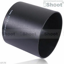 Neu Gegenlichtblend Linse Hood ET-73 für Canon EF 100mm f/2.8L Macro IS USM