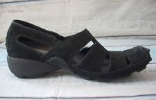 PRIVO By Clarks Womens Shoes Sandal Fisherman Black Suede Leather 79561 5.5  M