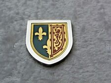 THE COATS OF ARMS OF THE GREAT MONARCHS INGOT MARY QUEEN OF SCOTS FRANKLIN MINT