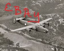 WWII GREAT ACTION 11X14 PHOTO OF B-24 BOMBER IN FLIGHT MCB SAN DIEGO 1943 LOOK