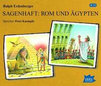 SAGENHAFT: ROM UND ÄGYPTEN - ERDENBERGER,RALPH  4 CD NEU