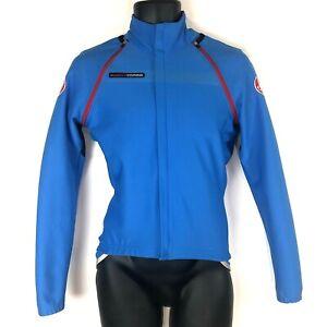 Castelli S Gabba Rosso Corsa Convertible Jacket Gabba windstopper blue jersey