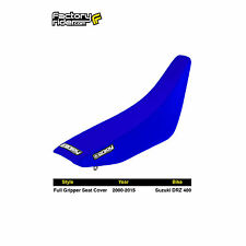 2000-2017 SUZUKI DRZ 400 All Blue FULL GRIPPER SEAT COVER BY Enjoy MFG