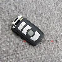 4 Tasten Schlüssel Gehäuse Funk Fernbedienung Klinge für BMW E65 E66 E67 7er 5er
