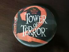 "Walt Disney Twilight Zone Tower Of Terror 2 Lenticular 4"" Button Pin MickeyMouse"