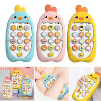 Remote Control Musical Toys Learning Phone Toy Baby Early Education Props