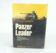 Vintage Avalon Hill Panzer Leader Tactical Warfare Board Game 1974 - Complete