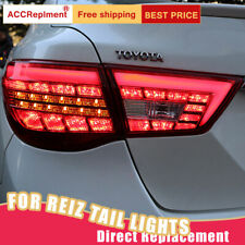 For Toyota Mark X 2013-2017 LED Taillights Assembly Dark / Red LED Rear Lamps