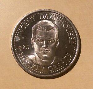 Hockey Greats Vincent Damphousse NHLPA 1996 Medallion # 25