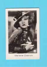 Marlene Dietrich Vintage 1933 Movie Film Star Cigarette Card from Germany #257
