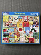 White Mountain Storytime COMPLETE Jigsaw Puzzle - 1000 Piece Larger Pieces books