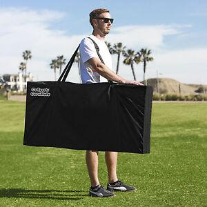 GoSports Heavy Duty Regulation Size [4' x 2'] Cornhole Set Carry Case
