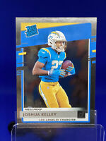 2020 Donruss Rated Rookie Silver Press Proof #338 Joshua Kelley RC /100