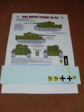 Decals for DAS Reich German Tiger I 1:16 Scale RC Tank