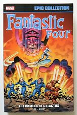 Fantastic Four The Coming of Galactus Marvel Epic EC Graphic Novel Comic Book