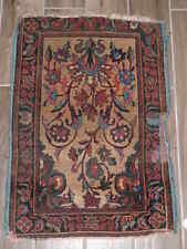 1890's Antique Persian Kerman Yazd Wool Rug