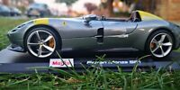 MAISTO 1:18 SCALE Ferrari Monza SP1 DIECAST MODEL NEW LIMITED EDITION SEE VIDEO