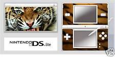Nintendo DS or DS Lite TIGER Vinyl Skin / Sticker / U.K