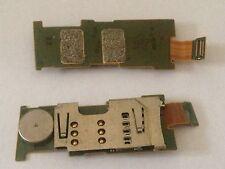Nokia E52 Sim SD Card Karte Metal Leser reader Halter Holder Slot Flex Platine