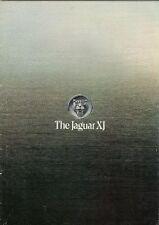 Jaguar XJ Series 2 1978-79 UK Market Sales Brochure 3.4 4.2 5.3 Saloon