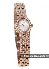 ladies Elgin rose gold CZ fashion Red Carpet Watch bracelet gift box