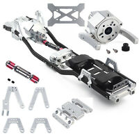313mm Wheelbase Chassis Frame Gearbox For 1/10 AXIAL SCX10 II 90046 RC Crawler