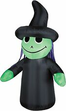 Gemmy Airblown Outdoor Witch Kid Halloween Airblown Inflatable!  NEW!  RARE