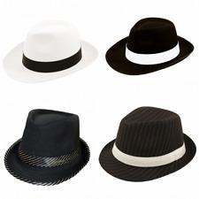 Men/'s années 1930 indestructible Fedora Gangster Déguisement Chapeau /& Spiv Tash Stag Fun
