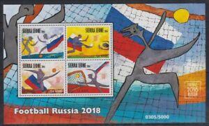 C405. Sierra Leone - MNH - 2016 - Sports - Football - Russia