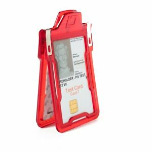 Identity Stronghold Classic - RFID Blocking Secure ID 1 Card Badge Holder USA