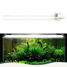 Fish Tank 11W Light Bulb Lamp Twin Tube 2 Pin Fish Aquarium Blue & White