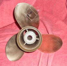 MI Wheel 11 1/4 x 10 Nibral Propeller For Mercury Mariner Searay 40 - 65HP (B210