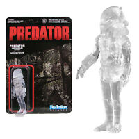 Predator - Clear Masked Predator - ReAction Figure by FUNKO - VAULTED