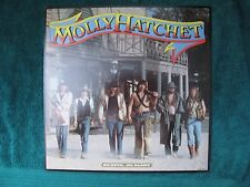 ORIGINAL VINTAGE 1983 Promo Poster Flat Molly Hatchet No Guts No Glory NMINT