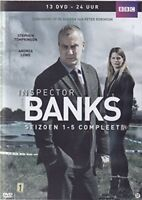DCI Banks - Complete Series 1  2  3  4  5 - Including Pilot 13 DVD Box Set