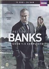DCI Banks - Complete Series 1  2  3  4  5 - Including Pilot 13 DVD Box Set