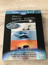 Earth Blu-Ray ** Brand New Sealed ** Disney Nature