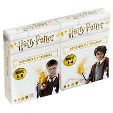 Harry Potter Playing Cards - Movies 1 - 8 - Two Packs of cards