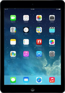 Apple IPAD Air 9.7 Pouces Tablette 16GB Wifi + LTE Espace de Gray (Md791kn/A