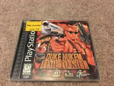 DUKE NUKEM TIME TO KILL BLACK LABEL PLAYSTATION 1 GAME