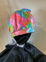 WOW 60's Mr. Martin Bright Multi Color Vintage Hat   B709