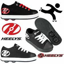 New Heelys Kids Wheelie Trainers Girls Boys Black Roller Skate Shoes Uk 11 Eu 30
