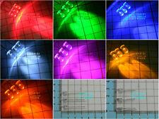 100pcs 5MM LED white/red/yellow/green/blue/orange /pink light-emitting diode