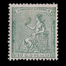 1873.Corona yAlegoría de España.10c.MH Edifil 133