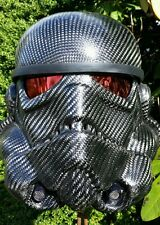 Carbon fiber stormtrooper helmet, one of a kind!