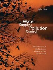 ORIGINAL US HARDCOVER - Water Supply and Pollution Control - Viessman (8 Ed) NEW